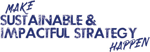 Make Sustainable & Impactful Strategy Happen - Logo